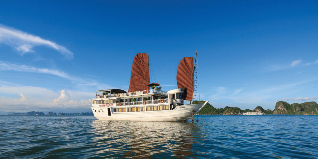 Halong Bay with Galaxy Premium Cruise